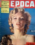 Marilyn Monroe on the cover of Epoca (Italy) - June 1953