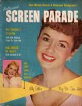 Debbie Reynolds on the cover of Hollywood Screen Parade (United States) - July 1958