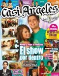 Juan Pedro Lanzani, Mariana Espósito on the cover of Casi Angeles (Argentina) - August 2009