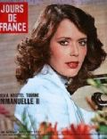 Sylvia Kristel on the cover of Jours De France (France) - September 1975