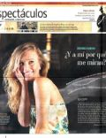 Brenda Gandini on the cover of La Nacion (Argentina) - November 2010