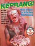 Lars Ulrich on the cover of Kerrang (United Kingdom) - December 1984