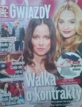 Anna Mucha, Malgorzata Socha on the cover of Gwiazdy (Poland) - May 2014