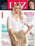 Diego Peretti, Nicole Neumann on the cover of Luz (Argentina) - August 2013