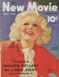 Jean Harlow on the cover of New Movie (United States) - June 1933