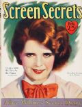 Clara Bow on the cover of Screen Secrets (United States) - February 1929