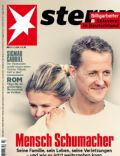 Corinna Schumacher, Michael Schumacher on the cover of Stern (Germany) - January 2014