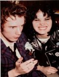 Joan Jett and Johnny Rotten
