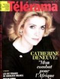 Catherine Deneuve on the cover of Telerama (France) - March 1986