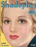 Constance Cummings on the cover of Shadoplay Magazine (United States) - January 1934
