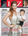 Karina Mazzocco on the cover of Luz (Argentina) - October 2007