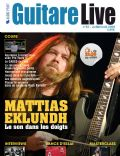 Mattias Eklundh on the cover of Guitare Live (France) - August 2009