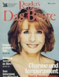 Senta Berger on the cover of Readers Digest (Germany) - May 2001