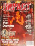 Jean-Claude Van Damme on the cover of Impact (United Kingdom) - September 1995