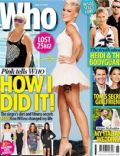 Pink on the cover of Who (Australia) - September 2012