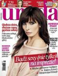 Agnieszka Dygant on the cover of Uroda (Poland) - January 2014