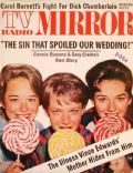 Janet Lennon on the cover of TV Radio Mirror (United States) - May 1963