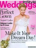 Jaime King on the cover of Instyle Weddings (United States) - September 2007