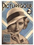 Nancy Carroll on the cover of Picturegoer (United Kingdom) - January 1933