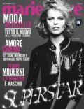 Eva Herzigova on the cover of Marie Claire (Italy) - September 2012