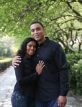 Harry Lennix and Djena Nichole Graves