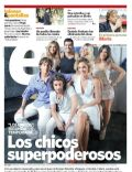 Brenda Asnicar, Emilia Attías, Gimena Accardi, Gimena Accardi and Nicolas Vazquez, Marco Antonio Caponi, María Eugenia Suárez, Nicolás Cabré, Nicolás Cabré and María Eugenia Suárez, Nicolas Vazquez on the cover of Clarin (Argentina) - February 2012