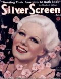 Jean Harlow on the cover of Silver Screen (United States) - June 1934
