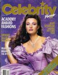 Jane Seymour on the cover of Celebrity Focus (United States) - April 1987