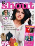 Selena Gomez on the cover of Shout (United Kingdom) - October 2010