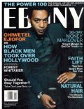 Chiwetel Ejiofor on the cover of Ebony (United States) - December 2013