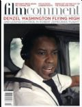 Denzel Washington on the cover of Film Comment (United States) - November 2012