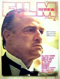 Marlon Brando on the cover of Film Review (United Kingdom) - September 1972
