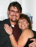 Erin Moran and Steven Fleischman