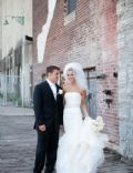 Zach Parise and Alisha Woods