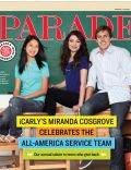 Miranda Cosgrove on the cover of Parade (United States) - August 2011