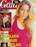 Basak Boztepe on the cover of Gala Jetset (Turkey) - September 1997