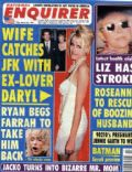 Daryl Hannah on the cover of National Enquirer (United States) - March 1997