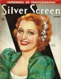 Jeanette MacDonald on the cover of Silver Screen (United States) - October 1937