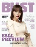 Rashida Jones on the cover of Bust (United States) - August 2010
