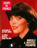 Mireille Mathieu on the cover of Jours De France (France) - June 1987