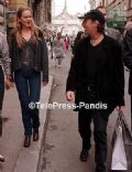 Julian Lennon and Lucy Bayliss