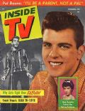 Fabian on the cover of Inside TV (United States) - December 1959