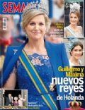 Princess Máxima of the Netherlands on the cover of Semana (Spain) - May 2013