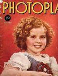 Shirley Temple on the cover of Photoplay (United States) - November 1937