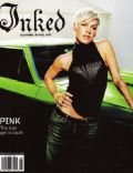 Pink on the cover of Inked (United States) - June 2009