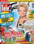 Anna Seniuk on the cover of Tele Tydzie (Poland) - July 2014