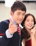 Rain and Tae-hee Kim