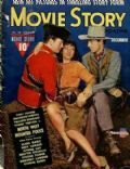 Paulette Goddard on the cover of Movie Story (United States) - December 1940