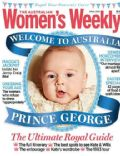 Prince George of Cambridge on the cover of Womens Weekly (Australia) - April 2014
