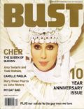 Cher on the cover of Bust (United States) - June 2003